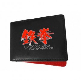 TEKKEN LOGO BLACK/RED WALLET / MACIŅŠ