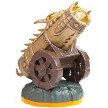 SKYLANDERS GIANTS GOLDEN DRAGONFIRE CANNON