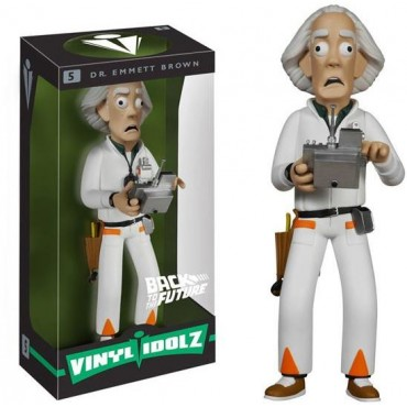 BACK TO THE FUTURE VINYL IDOLZ - DR. EMMETT BROWN #5
