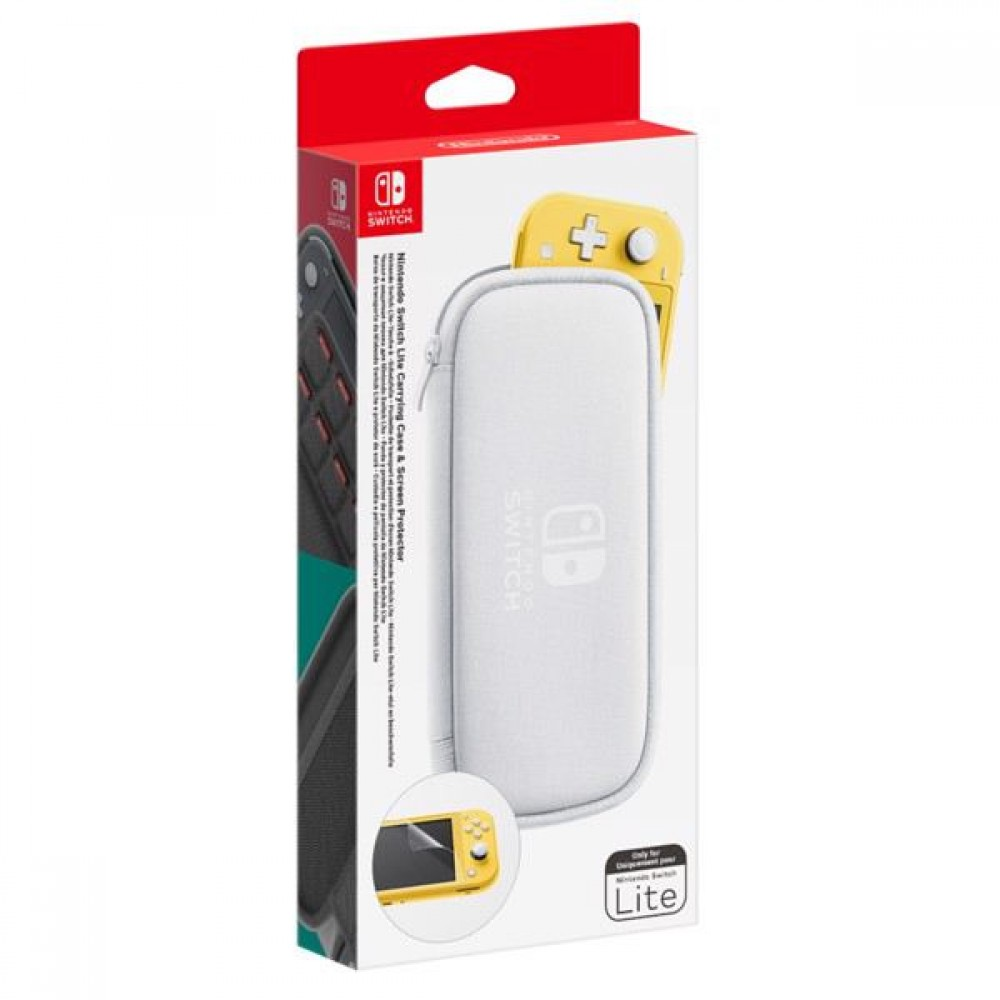 Nintendo Switch Lite case inc Prot. Film