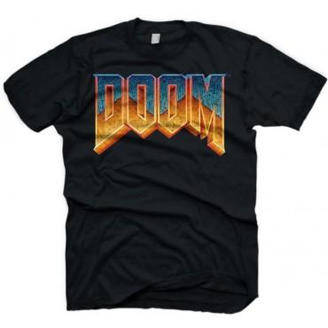 Gaya Doom - Classic Logo T-Shirt - Size L / IZMĒRS L