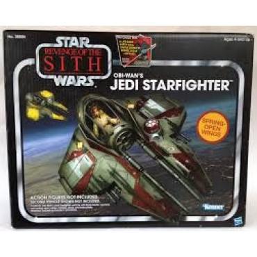 STAR WARS OBI WAN'S JEDI STARFIGHTER MODEL
