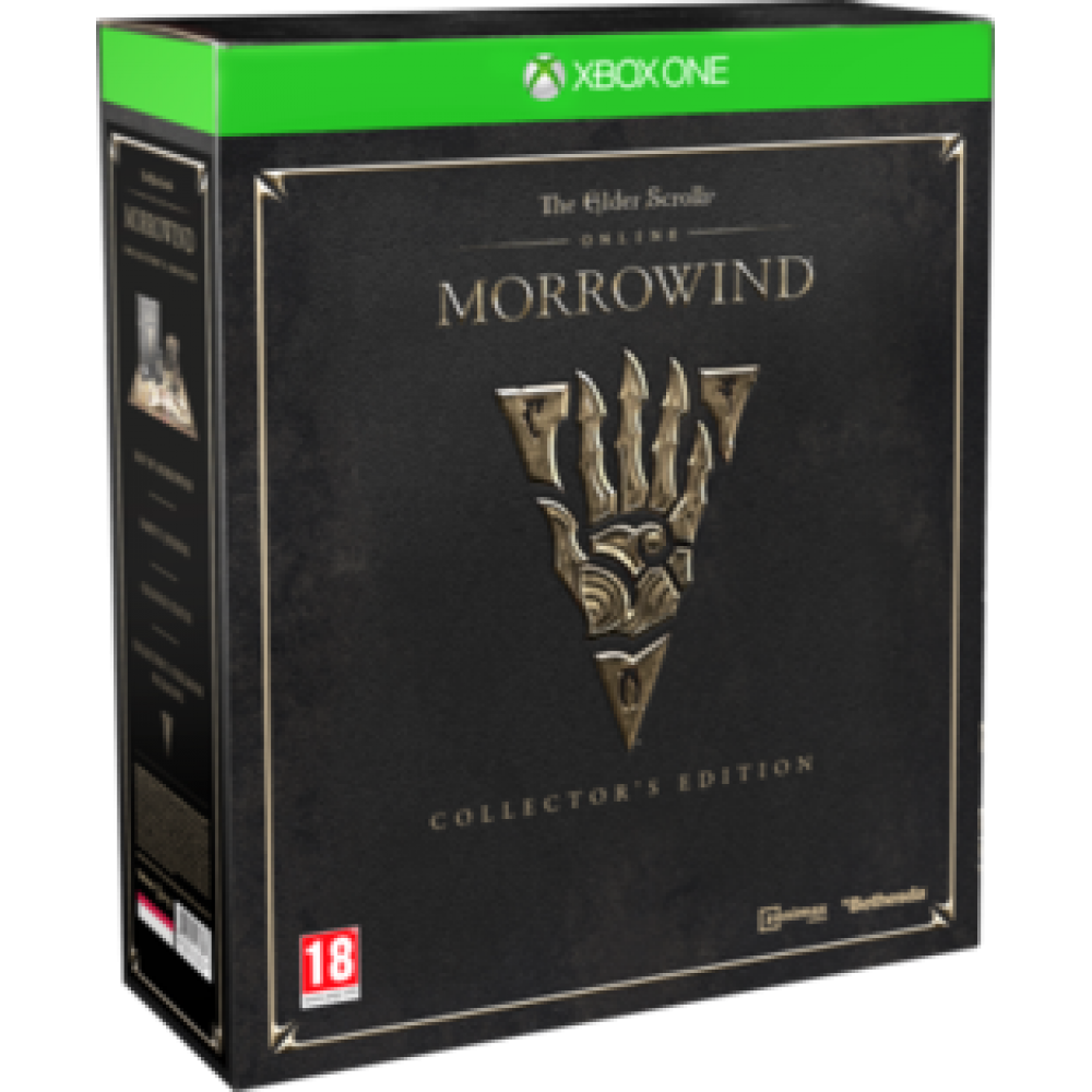 XBOX ONE The Elder Scrolls Online Morrowind Collectors Edition