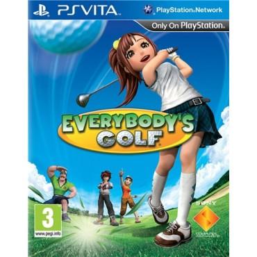 PS VITA Everybody`s Golf LIETOTA