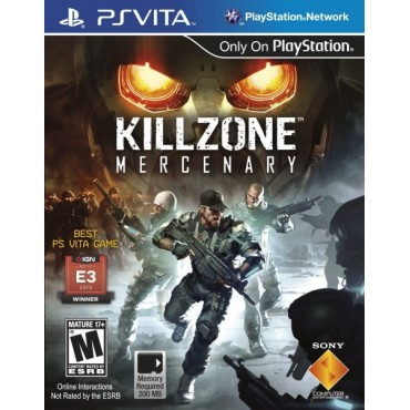 PS VITA KILLZONE MERCENARY - LIETOTA