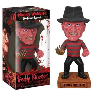 WACKY WOBBLER - A NIGHTMARE ON ELM STREET: FREDDY KRUEGER BOBBLE-HEAD FIGURE