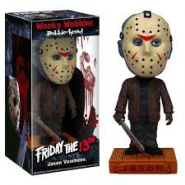 WACKY WOBBLER - FRIDAY THE 13TH: JASON VOORHEES BOBBLE-HEAD FIGURE
