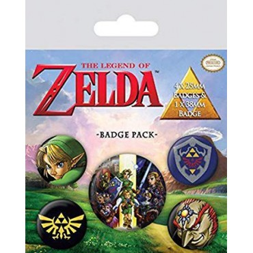 THE LEGEND OF ZELDA BADGE PACK