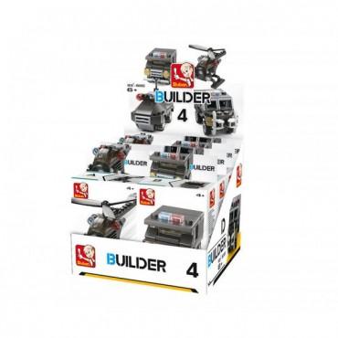 luban Builder Police 4 dažādi seti. Cena par katru.