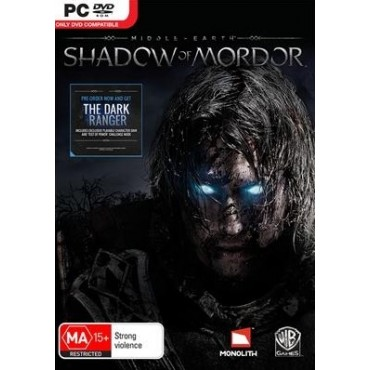 PC MIDDLE EARTH SHADOW OF MORDOR + THE DARK RANGER DLC
