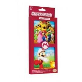 Nintendo Super Mario - 3D Coasters / 3D KRŪŽU PALIKTŅI