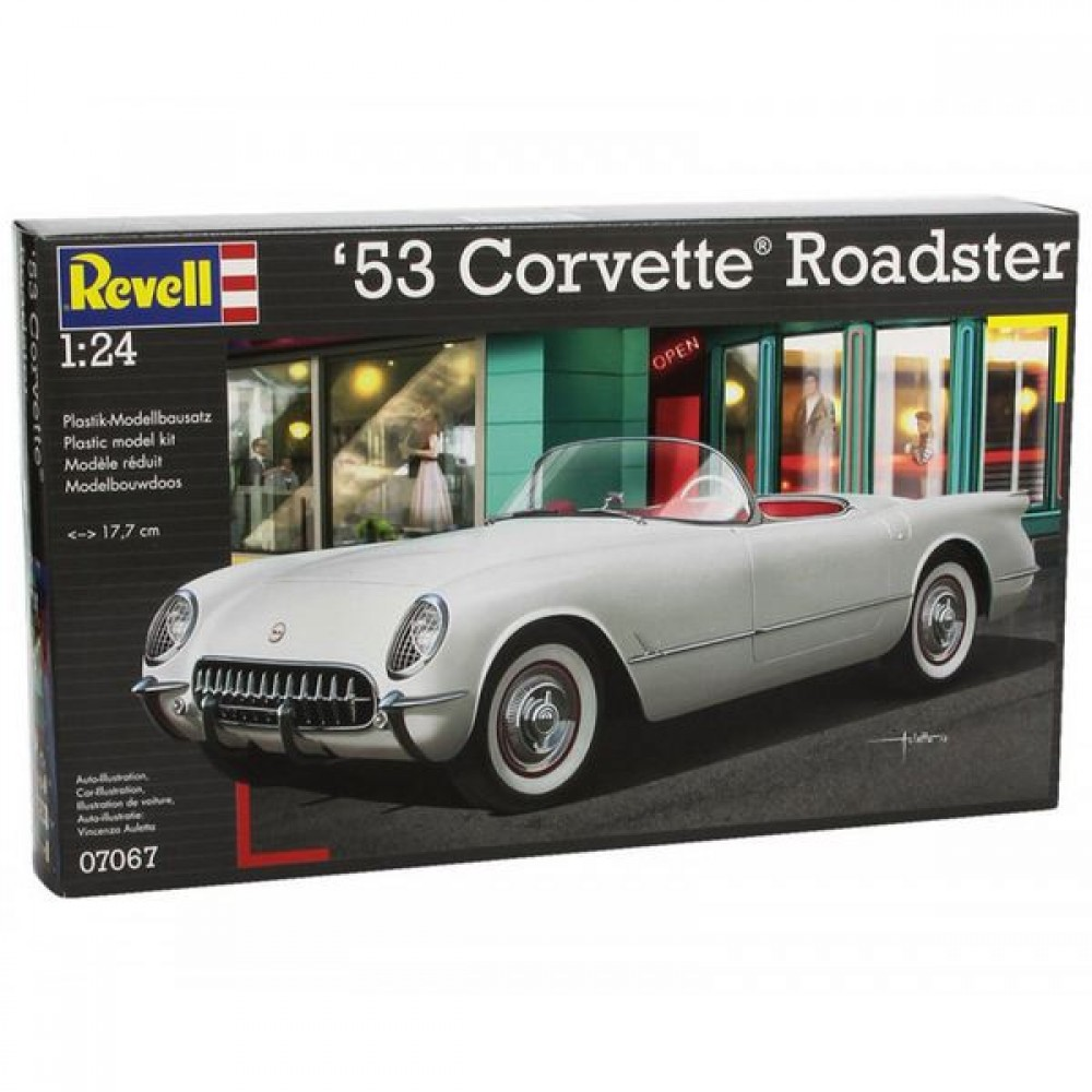 Revell Construction Kit Corvette '53 Roadster 1:24