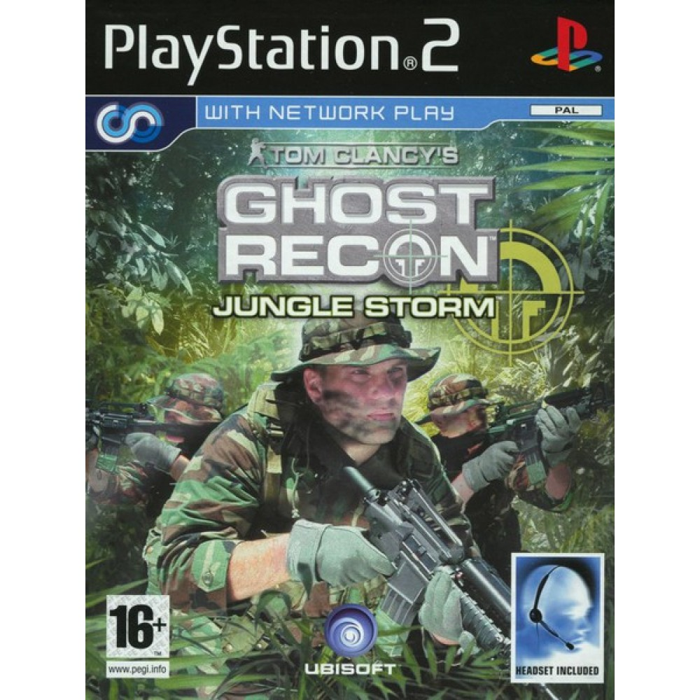 PS2 GHOST RECON JUNGLE STORM - LIETOTS
