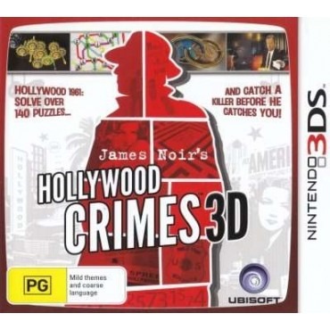 3DS Hollywood Crimes 3D