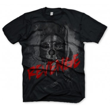 DISHONORED REVENGE T-SHIRT - SIZE L