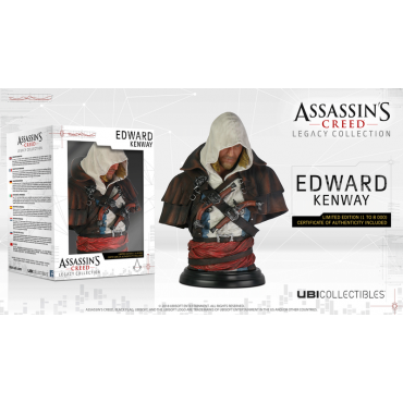 Assassin's Creed - Legacy Collection: Edward Kenway Limited Edition Bust