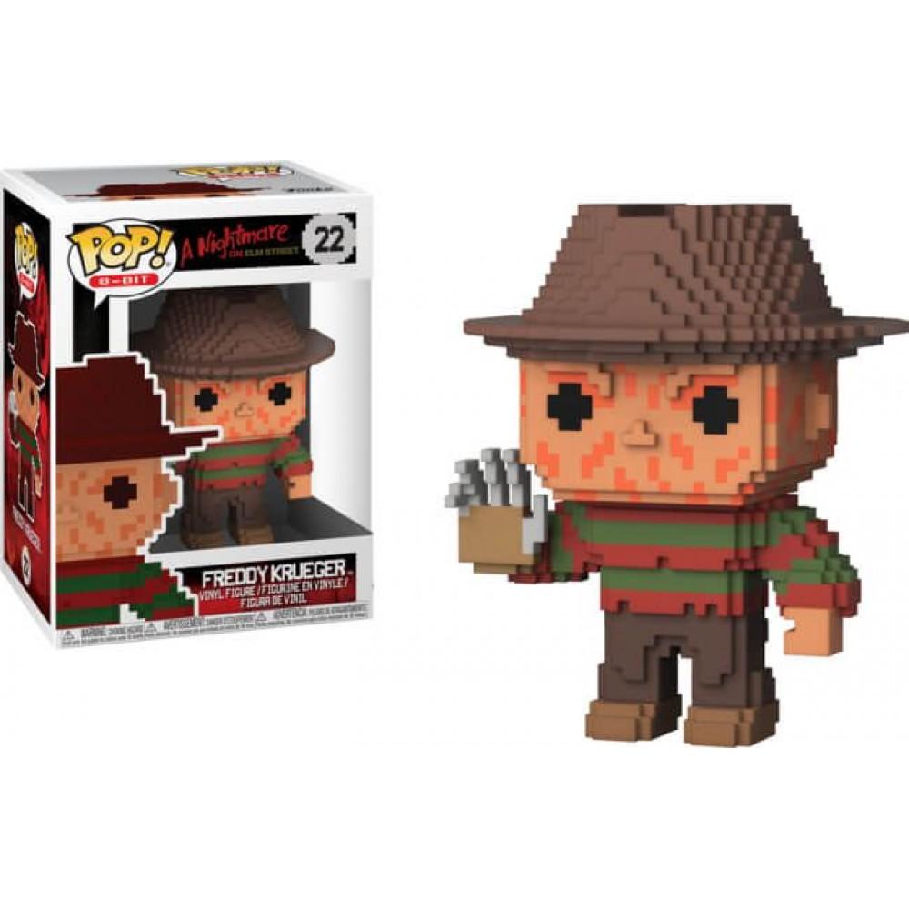 POP! 8-Bit: A Nightmare on Elm Street - Freddy Krueger #22 Vinyl Figure