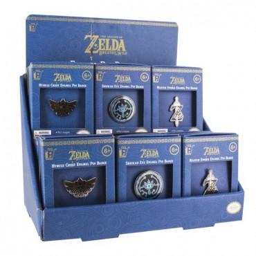 The Legend of Zelda - Enamel Pin Badge / METĀLA NOZĪMĪTES ASORTIMENTĀ CENA PAR VIENU