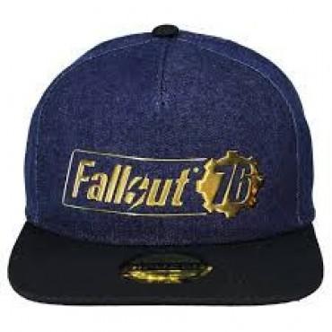 Fallout 76 - Fallout Logo Badge Snapback Cap