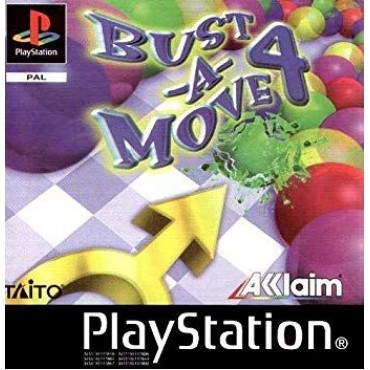 PS1 BUST-A-MOVE 4