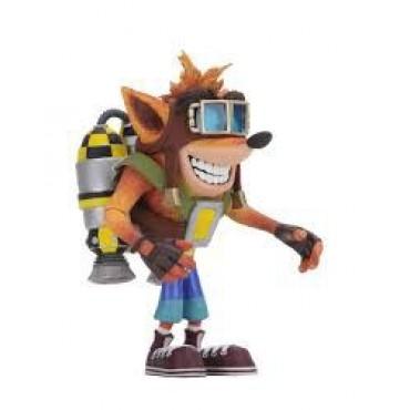 Crash Bandicoot - Crash with Jetpack Deluxe Action Figure 14CM