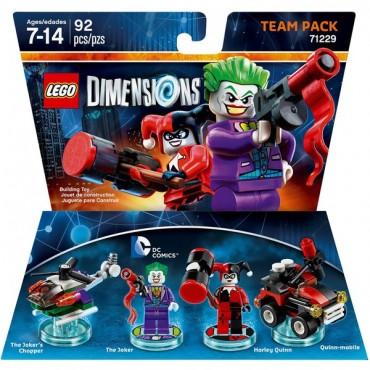 LEGO DIMENSIONS TEAM PACK DC COMICS