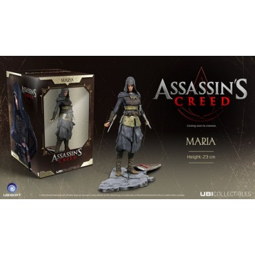 ASSASSIN'S CREED - MARIA PVC STATUE (23cm)