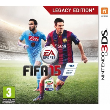 3DS FIFA 15 LEGACY EDITION