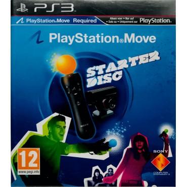 PS3 PLAYSTATION MOVE STARTER DISK LIETOTS